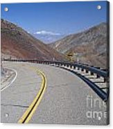 Highway 190 Acrylic Print by Chris Selby