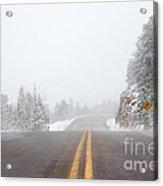 Highway Into Heaven Acrylic Print