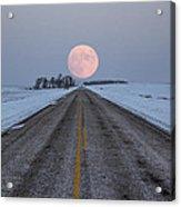 Highway To The Moon Acrylic Print