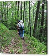 Hiking Group Acrylic Print