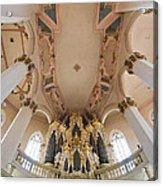 Hildebrandt Organ Naumburg Acrylic Print