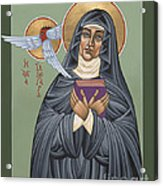St. Hildegard Of Bingen 171 Acrylic Print