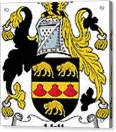 Hill Coat Of Arms II Irish Acrylic Print