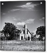 Hill Country Homestead Acrylic Print