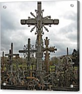 Hill Of Crosses 06. Lithuania.  Acrylic Print