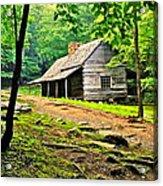Hillbilly Heaven Acrylic Print
