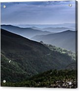 Hills And Valleys Acrylic Print