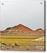 Hills Of Color Acrylic Print