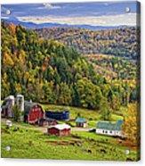 Hillside Acres Farm Acrylic Print