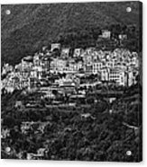 Hillside Amalfi Coast Acrylic Print