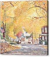 Hillside Avenue Staten Island Acrylic Print