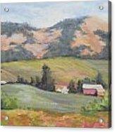 Hillside Farm Acrylic Print