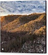 Hillside Sunset Acrylic Print