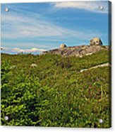 Hillside View Of Swissair Flight 111 Memorial In Whalesback-ns Acrylic Print