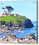 Hilltop Lighthouse Acrylic Print