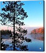Hilltop View Of Stoneledge Lake Acrylic Print by Terri Gostola