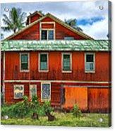 Hilo Town House Acrylic Print