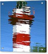 Hilton Head Lighthouse Reflection Acrylic Print
