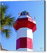 Hilton Head Lighthouse Upclose Acrylic Print