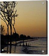 Hilton Head Sunset Acrylic Print