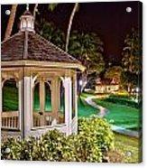 Hilton Waikoloa Village Gazebo Acrylic Print