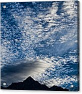 Himalayan Skies Acrylic Print