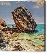 Himara's Big Rock Acrylic Print