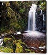 Hindhope Waterfall Acrylic Print