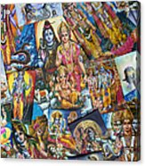 Hindu Deity Posters Acrylic Print