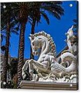 Hippocampus At Caesars Palace Acrylic Print
