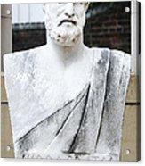 Hippocrates Statue - Vcu Campus Acrylic Print