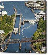 Hiram M. Chittenden  Ballard Locks Acrylic Print