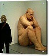 Hirshhorn Museum Sculpture Acrylic Print
