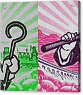 His And Hers Cultural Revolution Acrylic Print