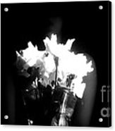 His Flowers Mean Nothing Acrylic Print