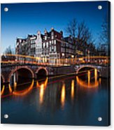 Historic Amsterdam Acrylic Print