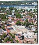 Historic Annapolis Maryland Acrylic Print