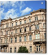 Historic Apartment House In Budapest Acrylic Print
