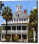 Historic Battery Home Acrylic Print
