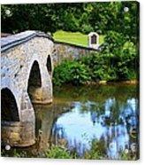 Historic Burnside Bridge Acrylic Print