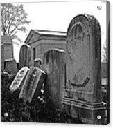 Historic Cemetery Acrylic Print