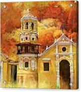 Historic Center Of Santa Cruz De Mompox Acrylic Print
