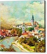 Historic Centre Of Cesky Krumlov Acrylic Print