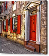 Historic Charleston - Pirate House Acrylic Print