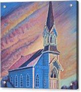 Historic Church  Acrylic Print