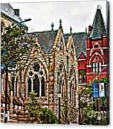 Historic Church St Louis Mo 2 Acrylic Print