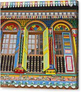 Historic Colorful Peranakan House Acrylic Print