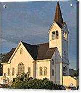 Historic Country Church Art Prints Acrylic Print