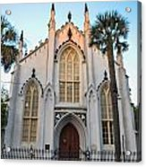 Historic Downtown Church Acrylic Print