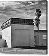 Historic Estrella Gas Station Desert Hot Springs Acrylic Print